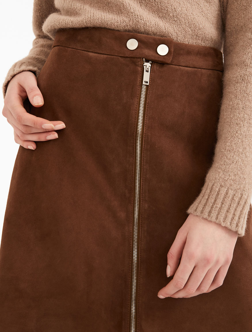 Suede skirt Weekend Maxmara