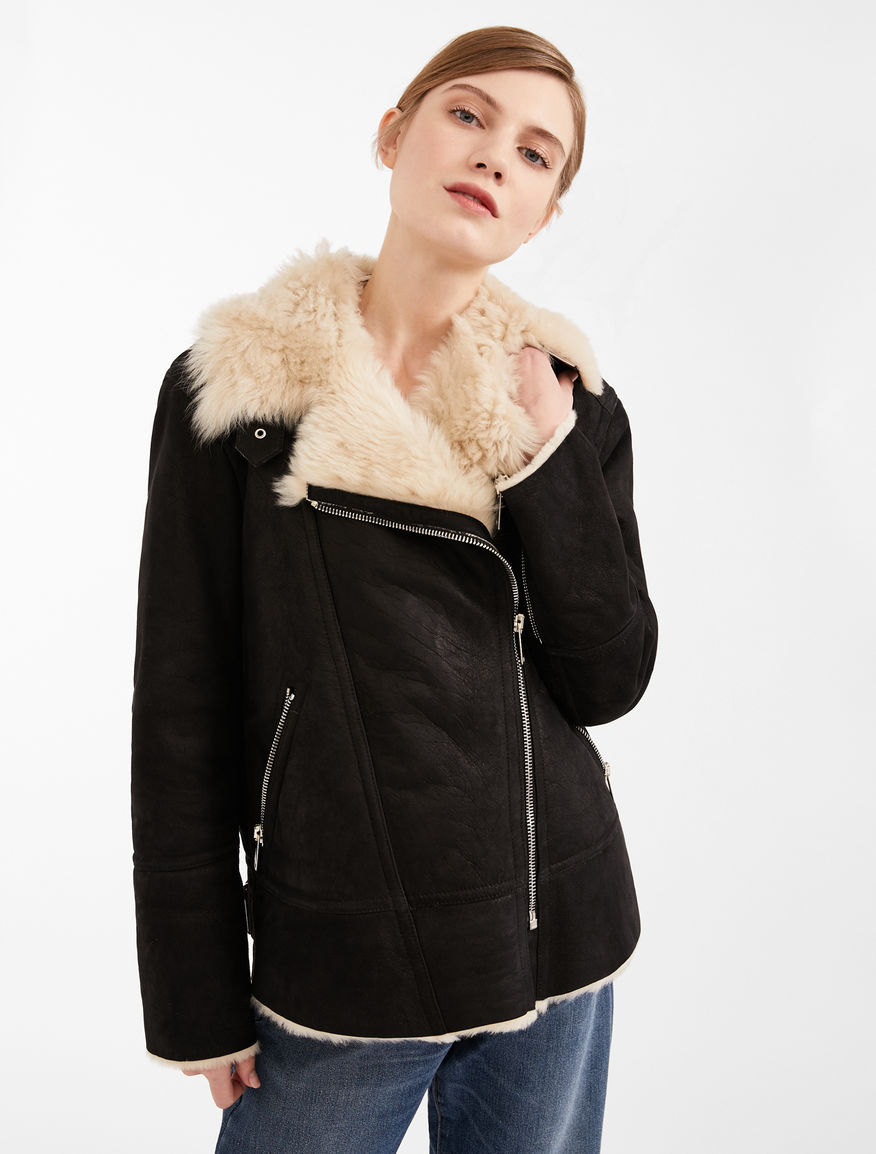 Suede leather jacket Weekend Maxmara
