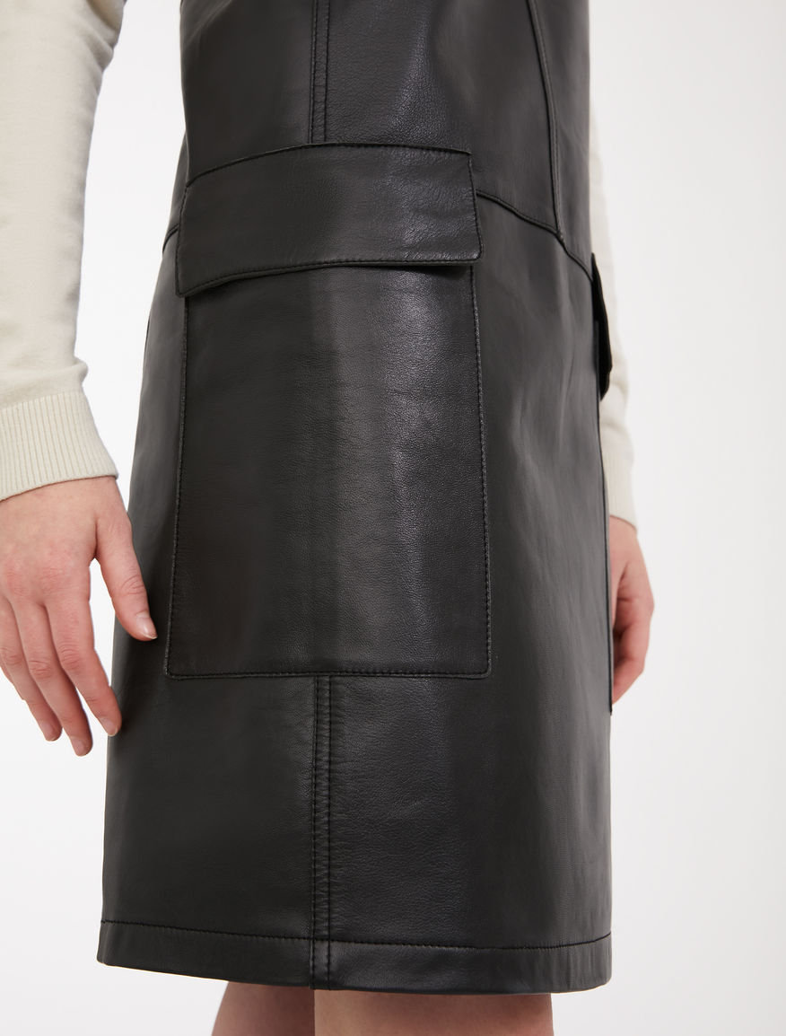 Nappa leather and jersey dress Weekend Maxmara
