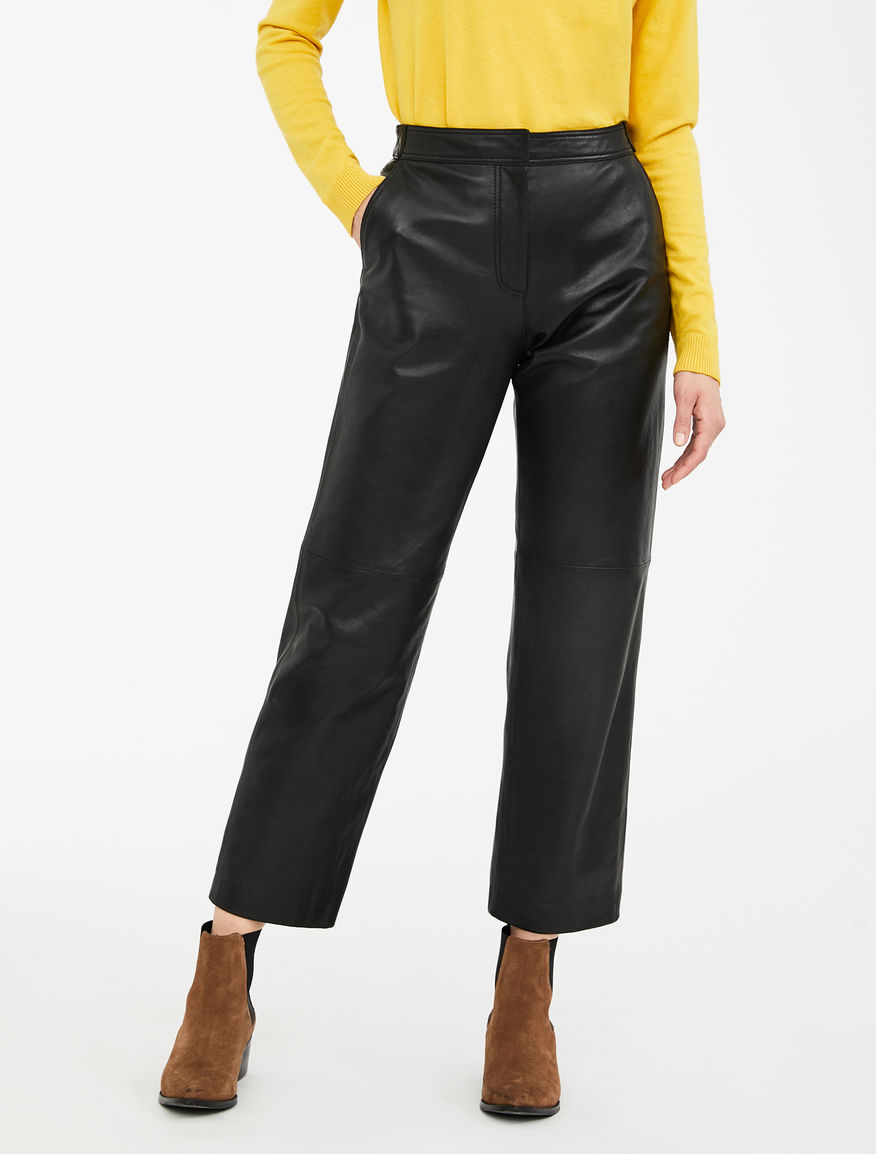 Pantaloni in nappa Weekend Maxmara