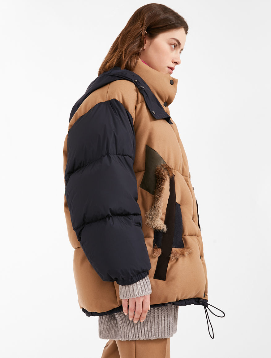 Wool flannel padded jacket Weekend Maxmara
