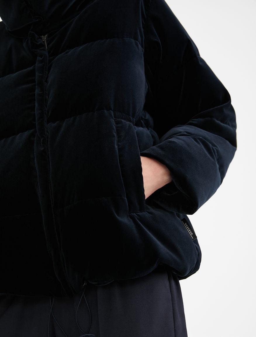 Water-repellent velvet down jacket Weekend Maxmara