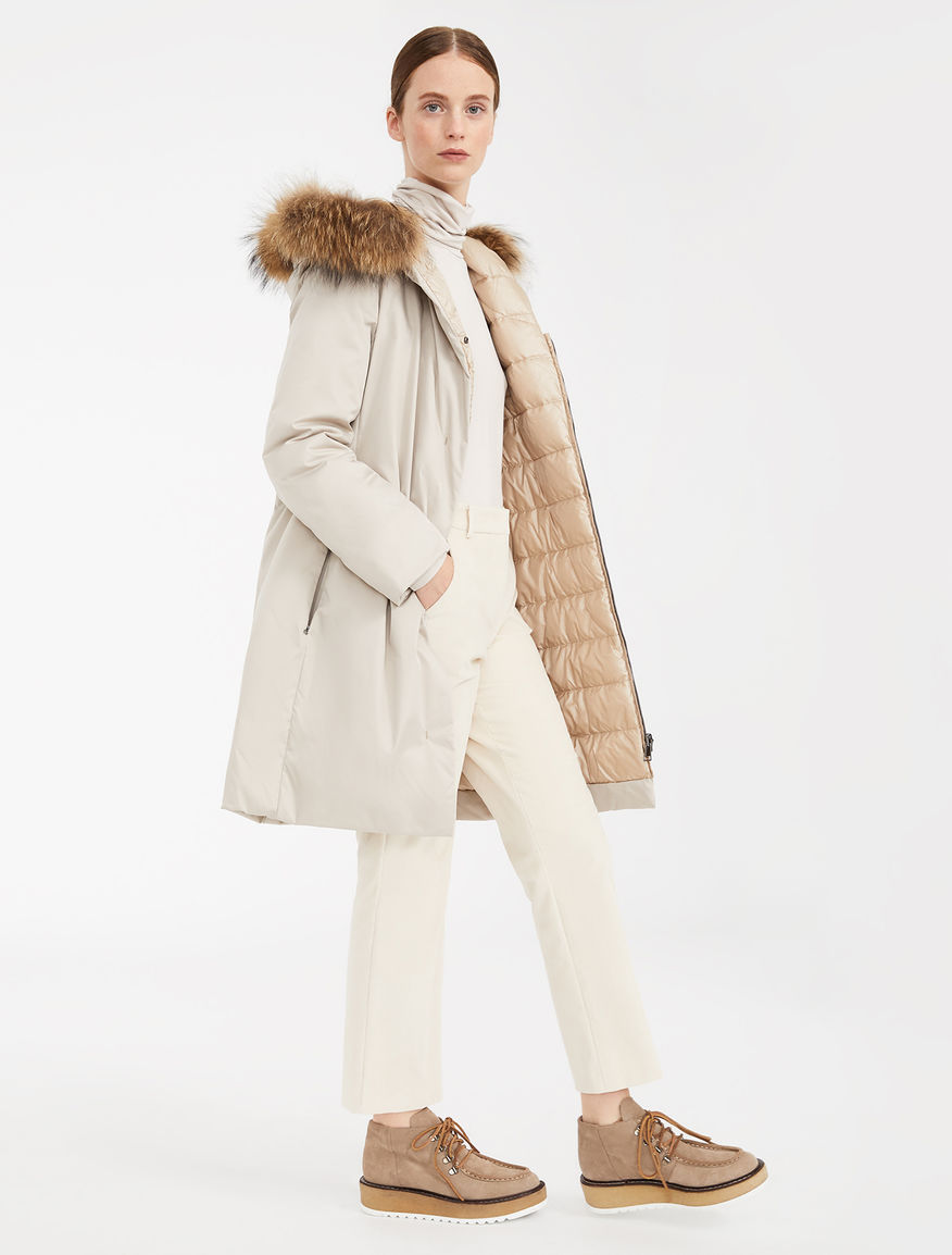 Reversible down jacket in water-repellent technical fabric Weekend Maxmara