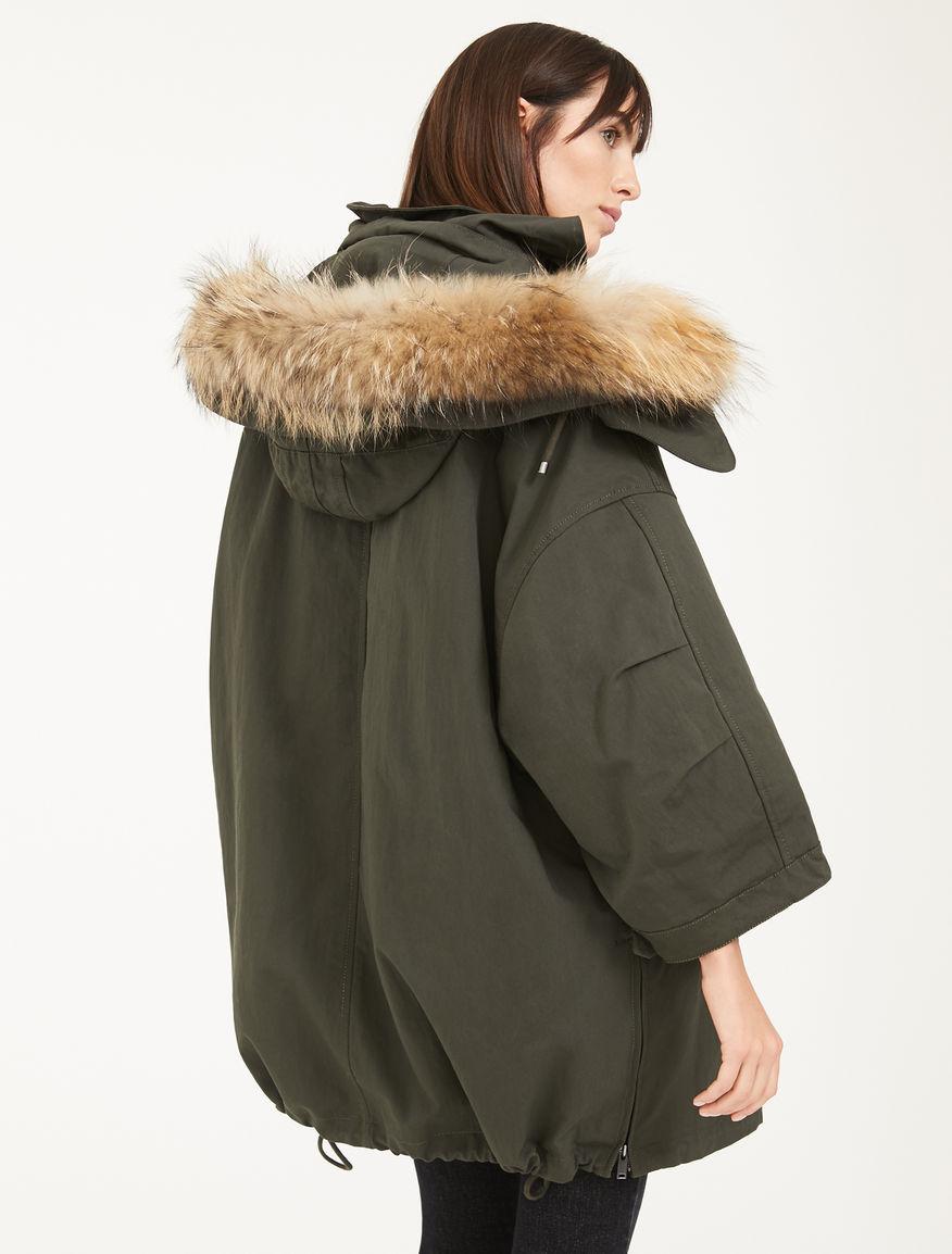Jacket made from showerproof cotton canvas Weekend Maxmara