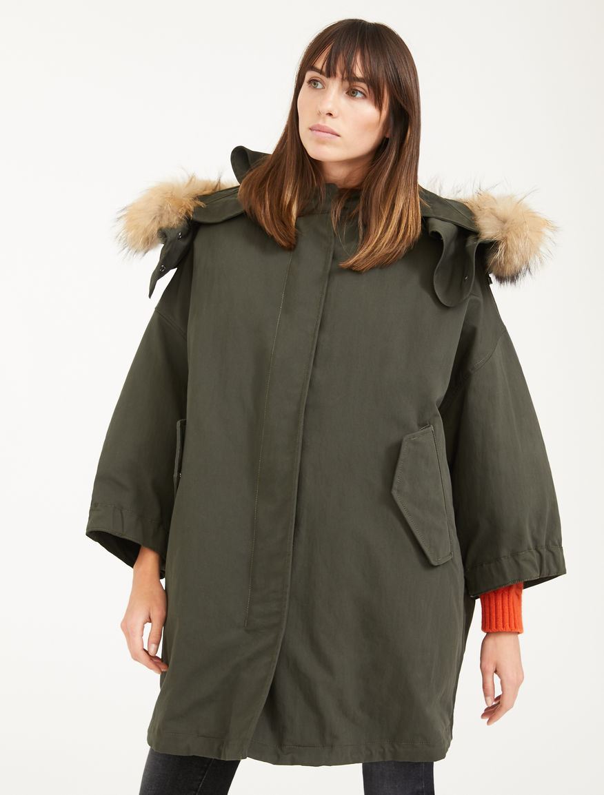 Reversible down jacket in water-repellent taffeta Weekend Maxmara