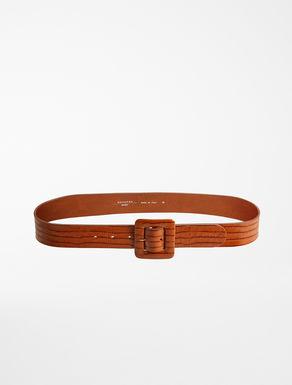 Cintura in pelle stampa cocco Weekend Maxmara