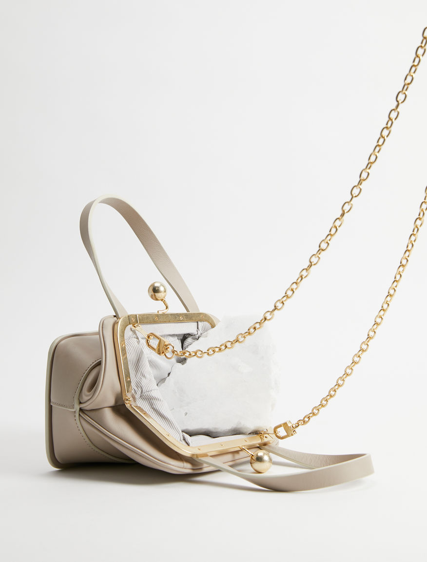 Leather Lady bag Weekend Maxmara