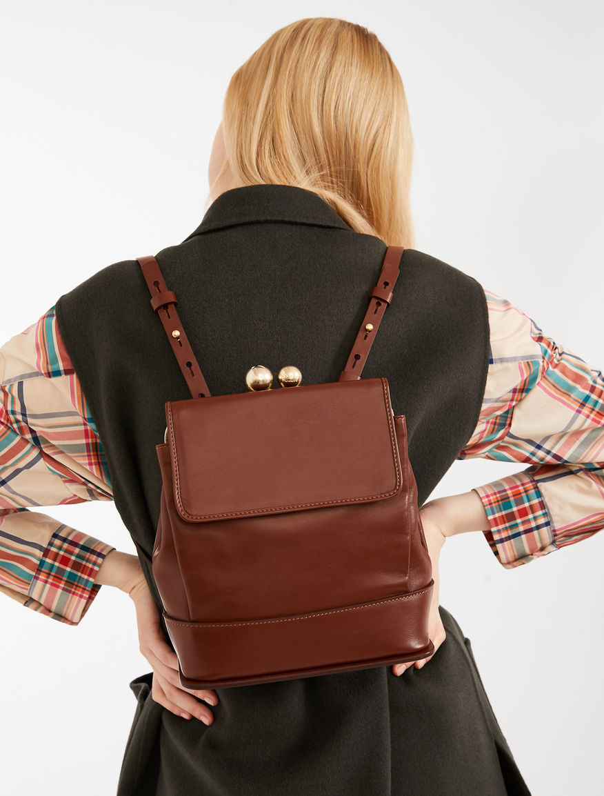 Leather rucksack Weekend Maxmara