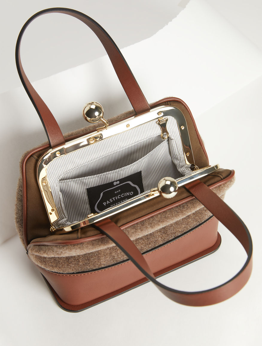 Borsa Lady in feltro Weekend Maxmara
