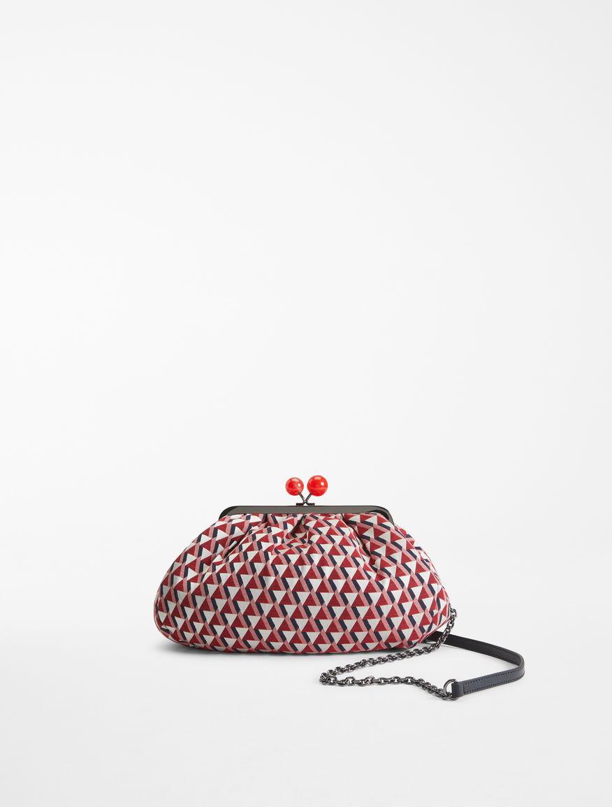Medium jacquard fabric Pasticcino Bag Weekend Maxmara