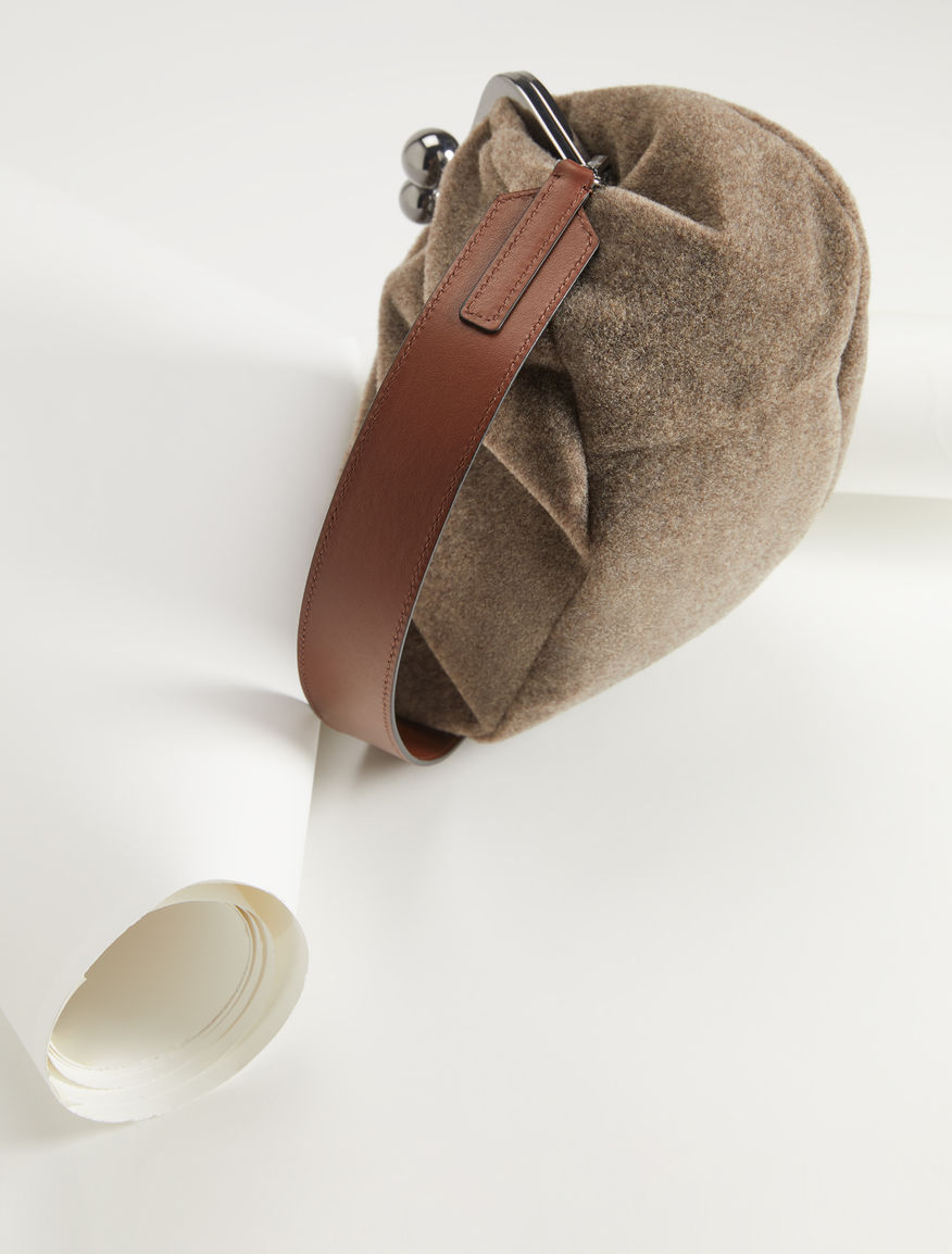 Pasticcino Bag Medium in feltro Weekend Maxmara