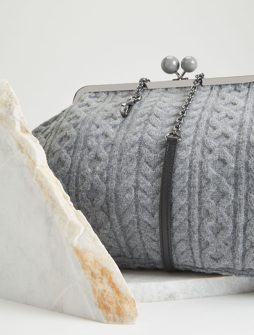 Maxi Pasticcino knitted bag Weekend Maxmara