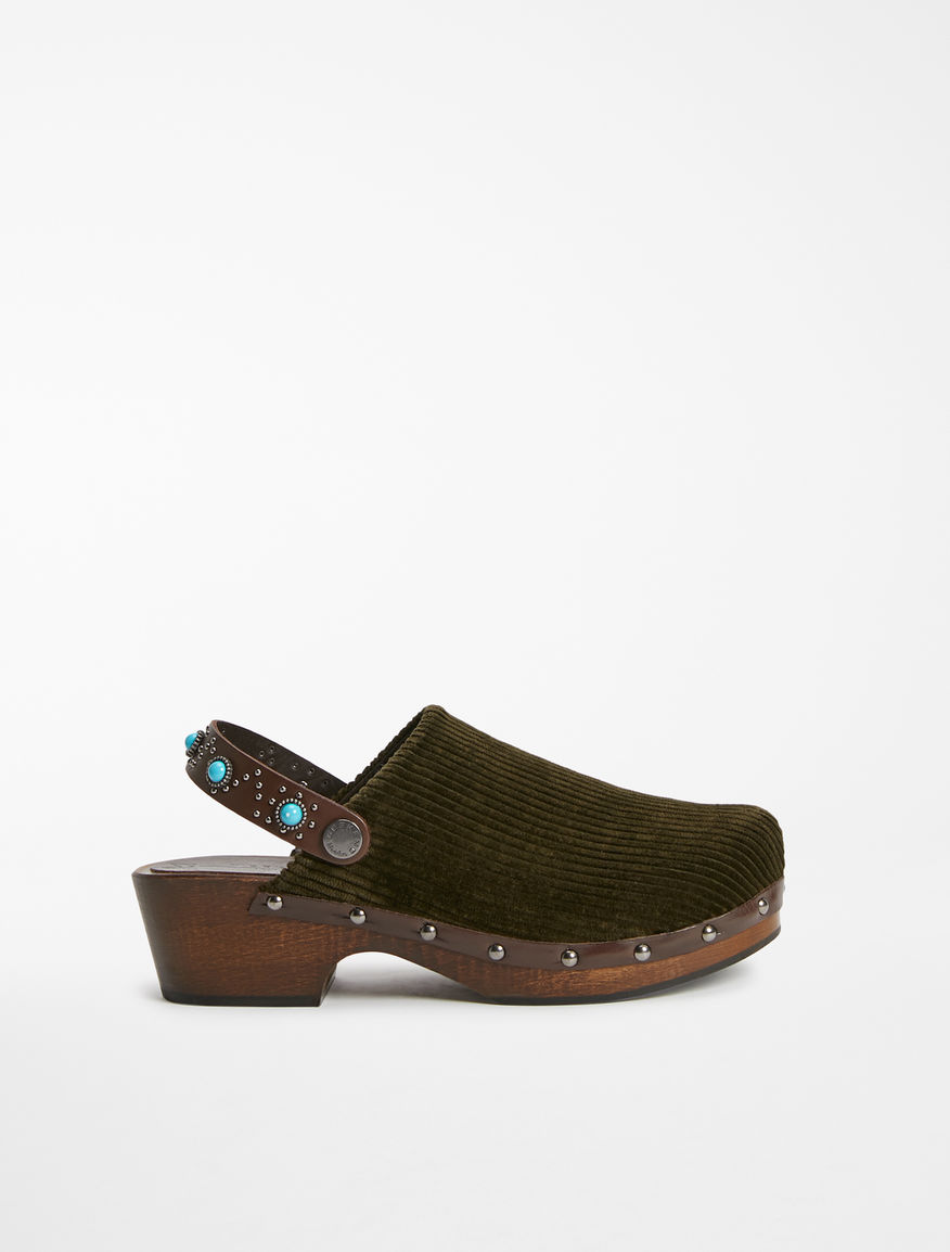 Velvet clog Weekend Maxmara