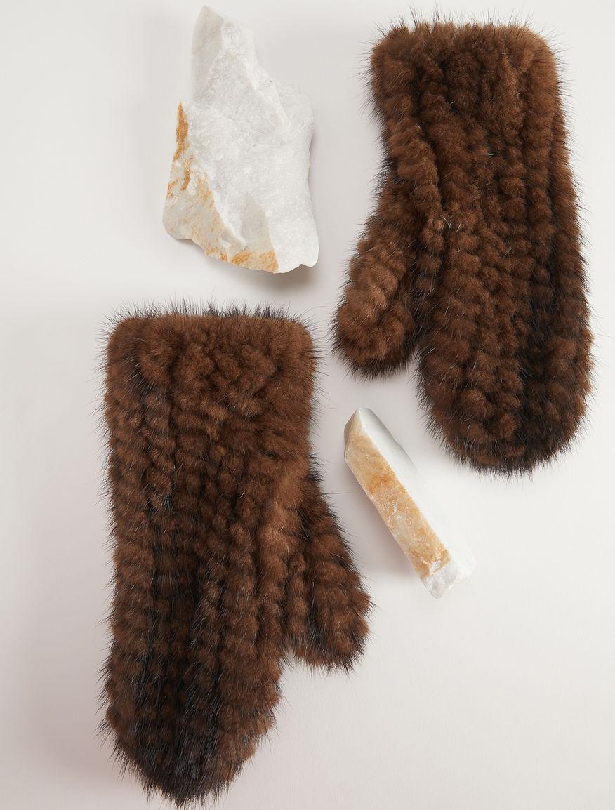 Mink gloves Weekend Maxmara