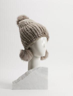 Cappello in visone e volpe Weekend Maxmara