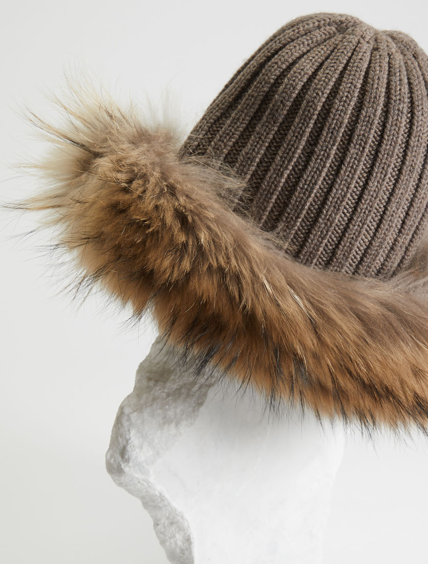 Wool and fur hat Weekend Maxmara
