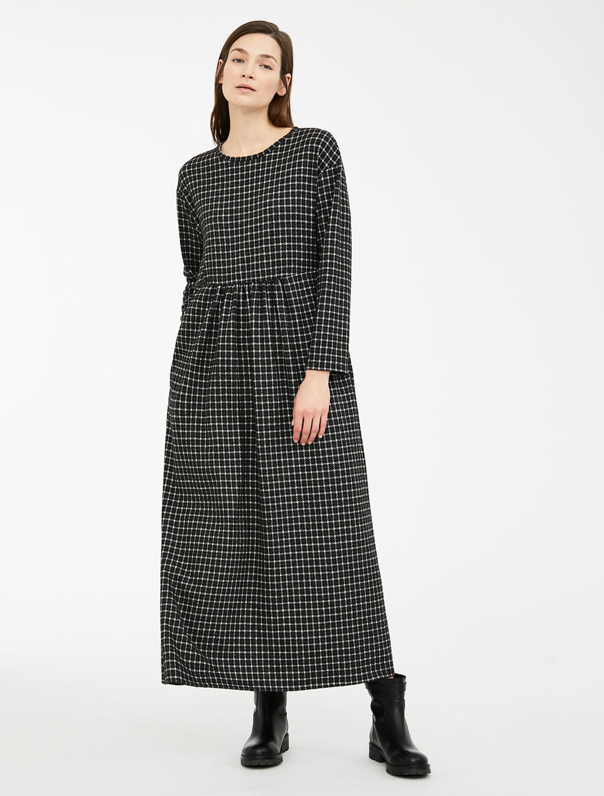 Flannel jersey dress Weekend Maxmara