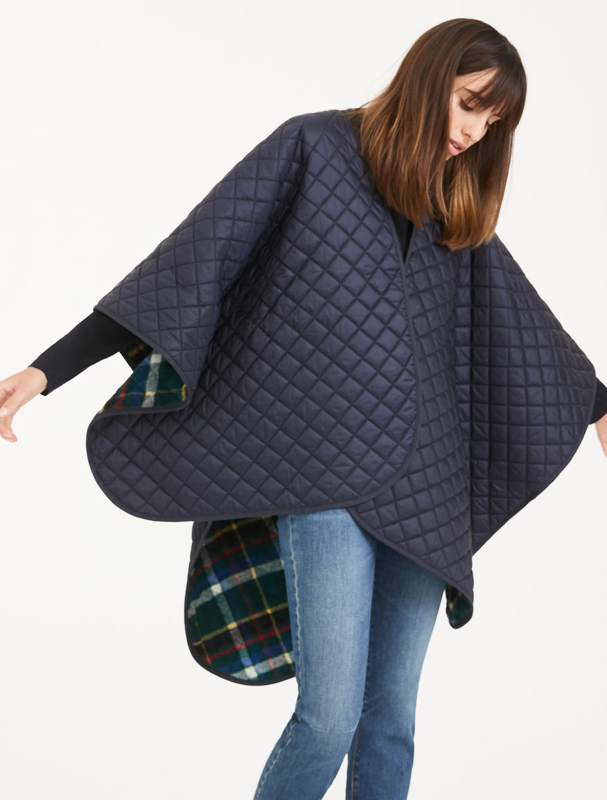 Reversible wool blend cape Weekend Maxmara