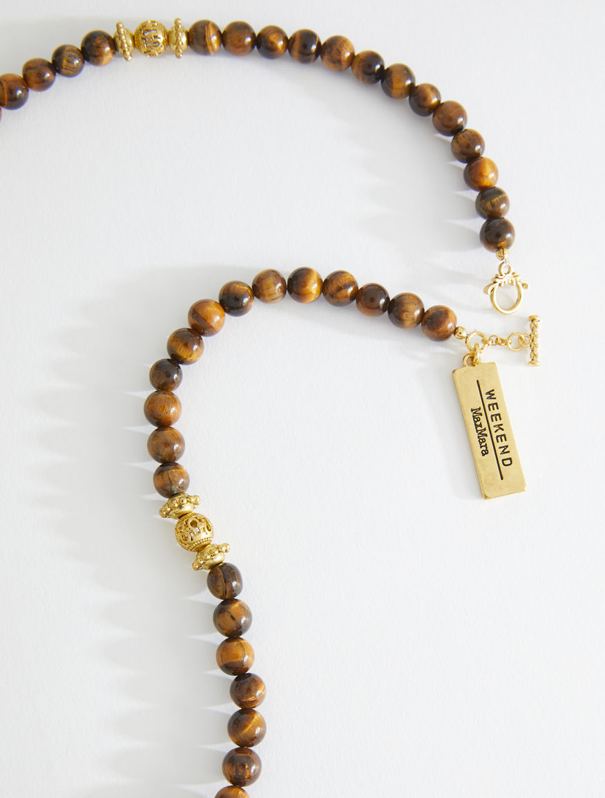 Necklace with beads and pendant Weekend Maxmara