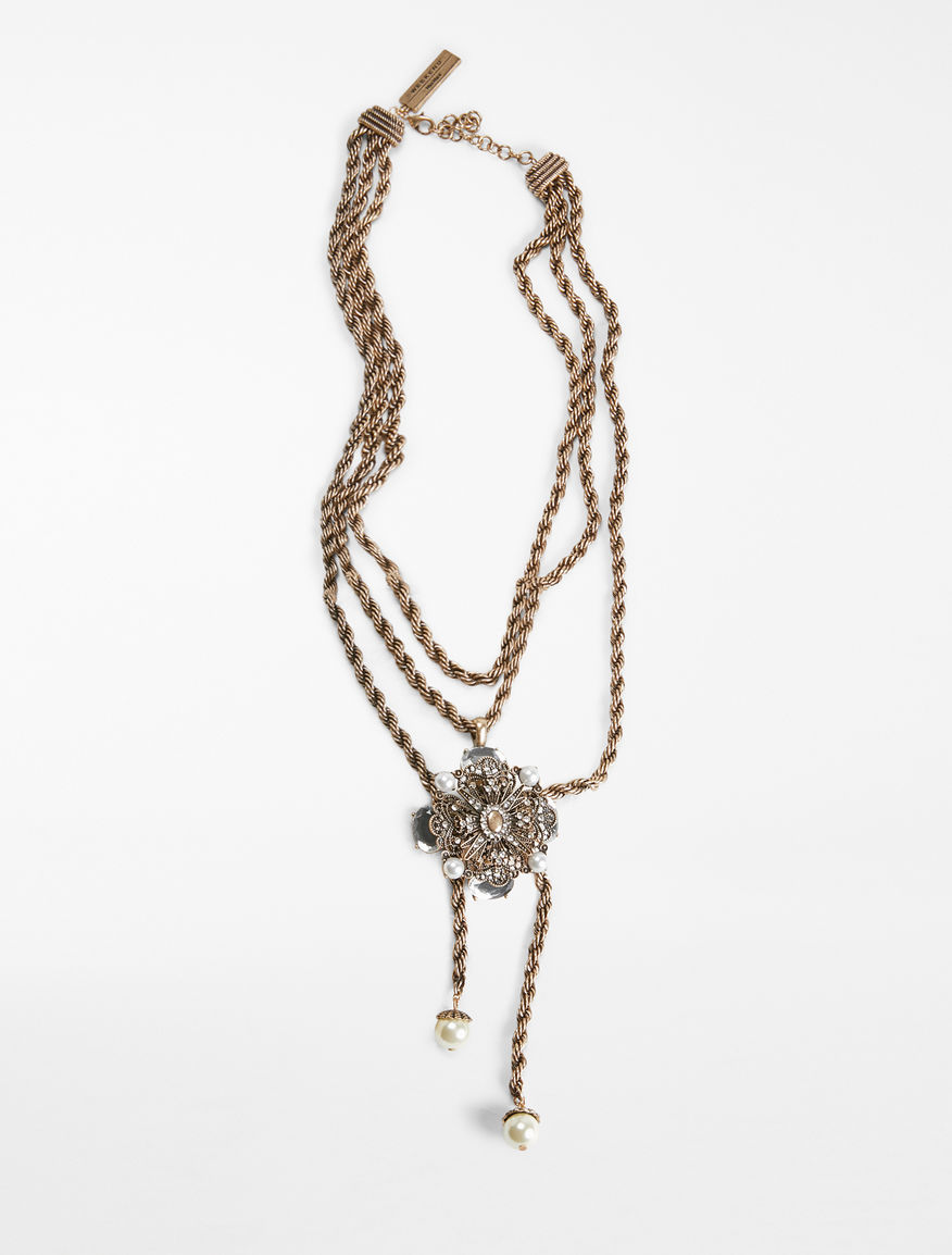 Jewelled chain necklace Weekend Maxmara