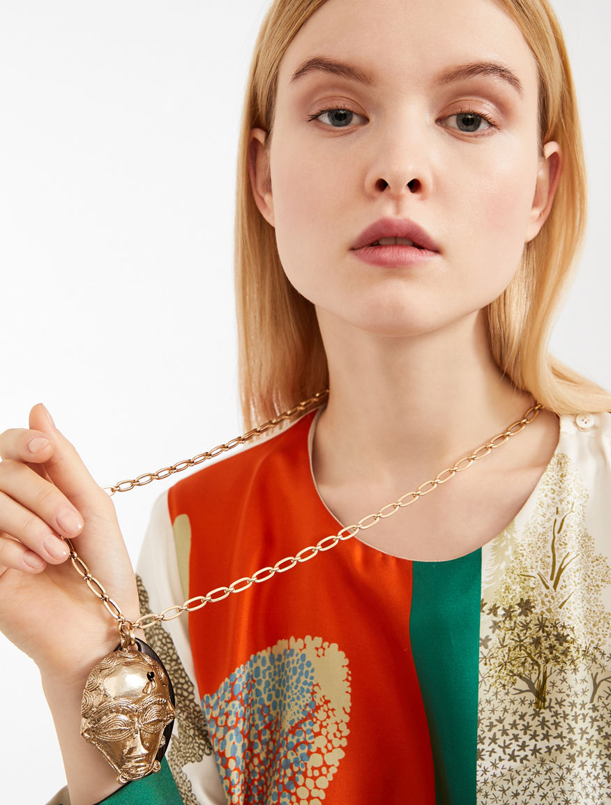 Chain necklace with charm Weekend Maxmara
