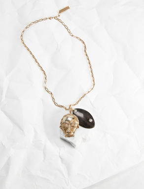 Collana a catena con charm Weekend Maxmara