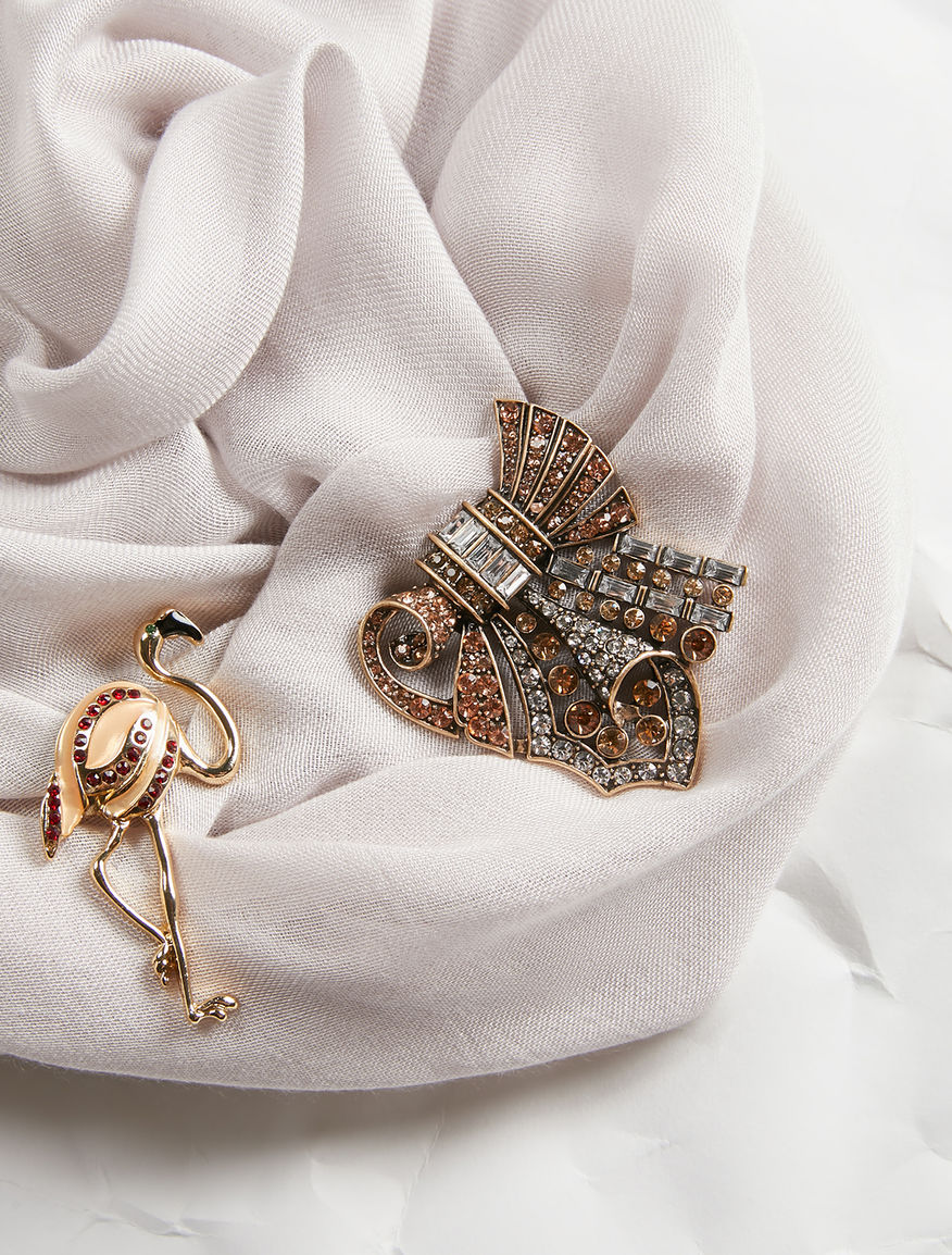 Set of 2 brooches Weekend Maxmara