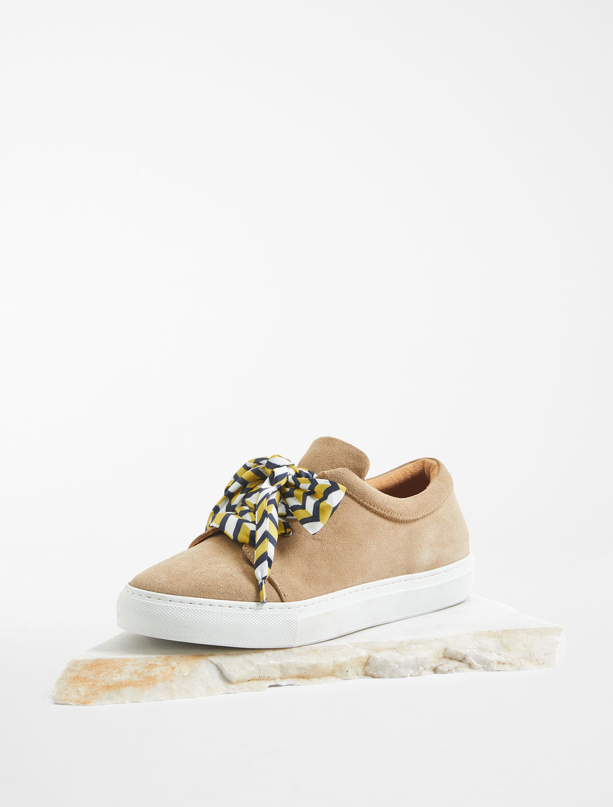 Sneaker in pelle scamosciata Weekend Maxmara