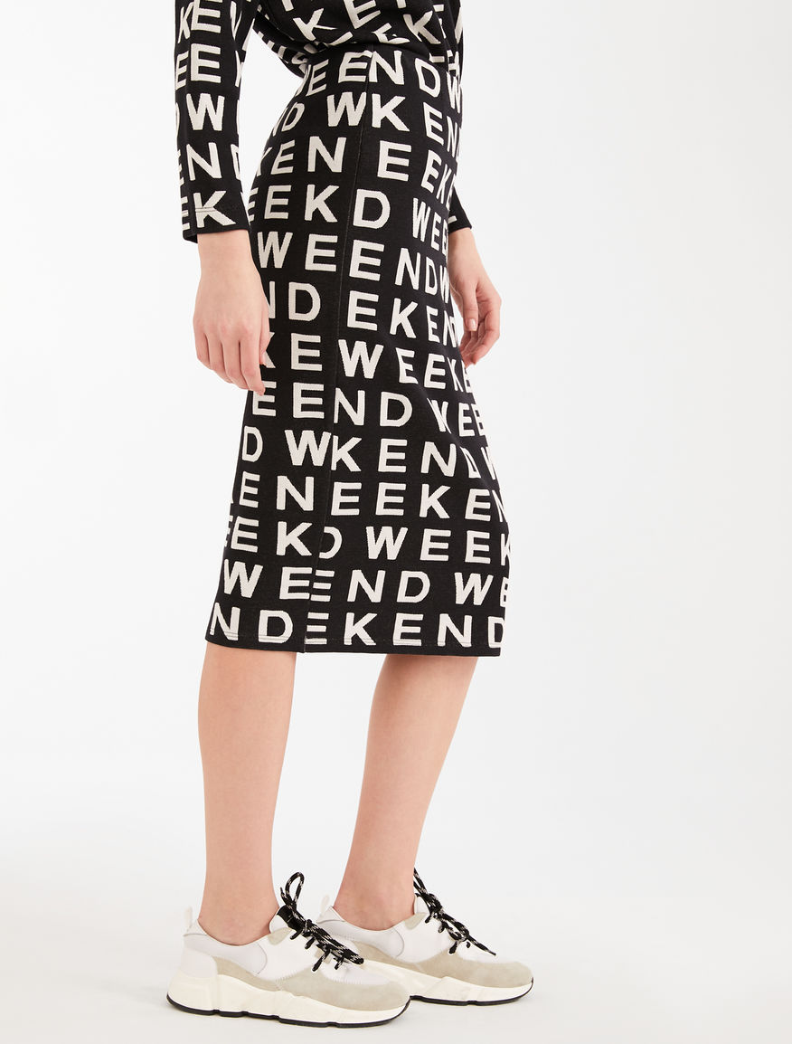 Jacquard jersey skirt Weekend Maxmara