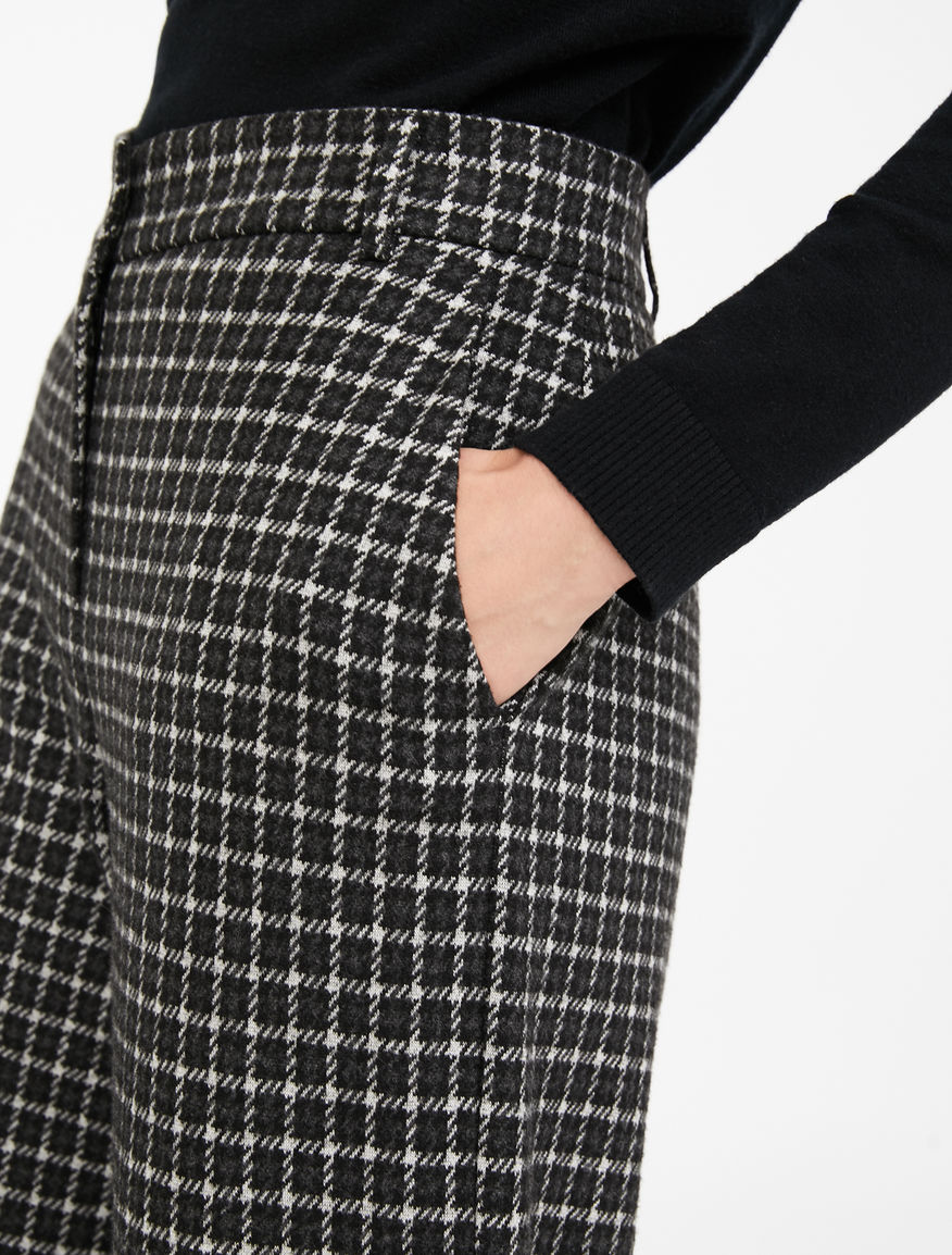 Pantaloni in flanella jacquard Weekend Maxmara