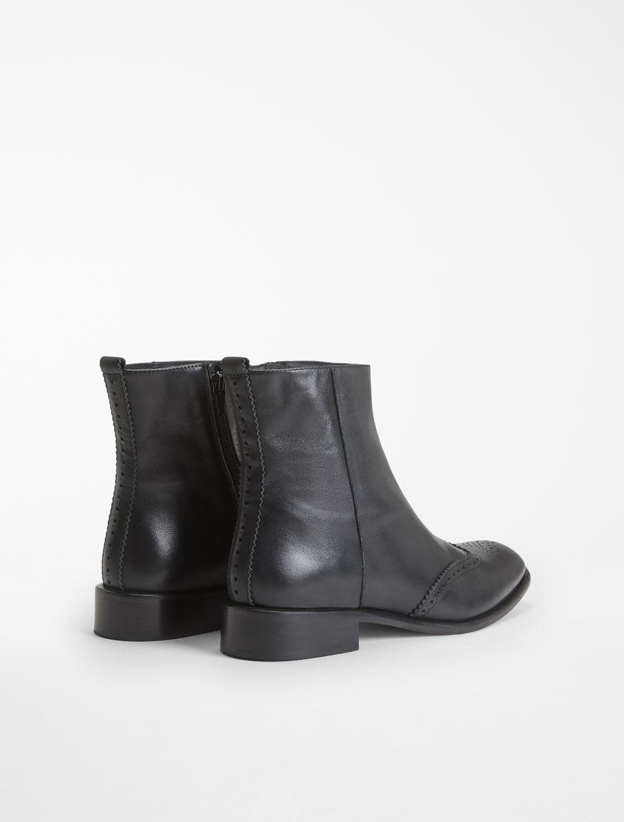 Leather half boot Weekend Maxmara