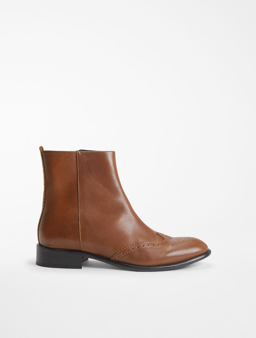 Leather half boot Weekend Maxmara