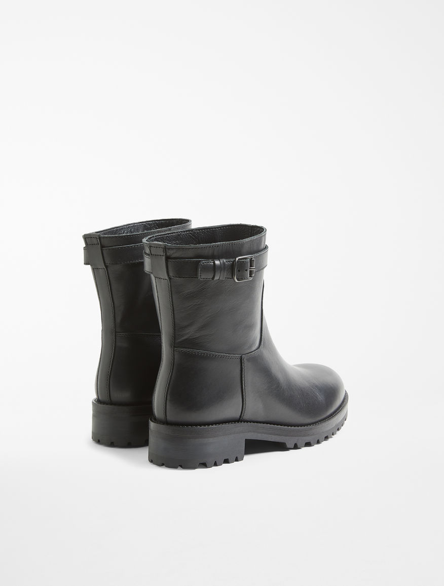 Biker boot in pelle Weekend Maxmara