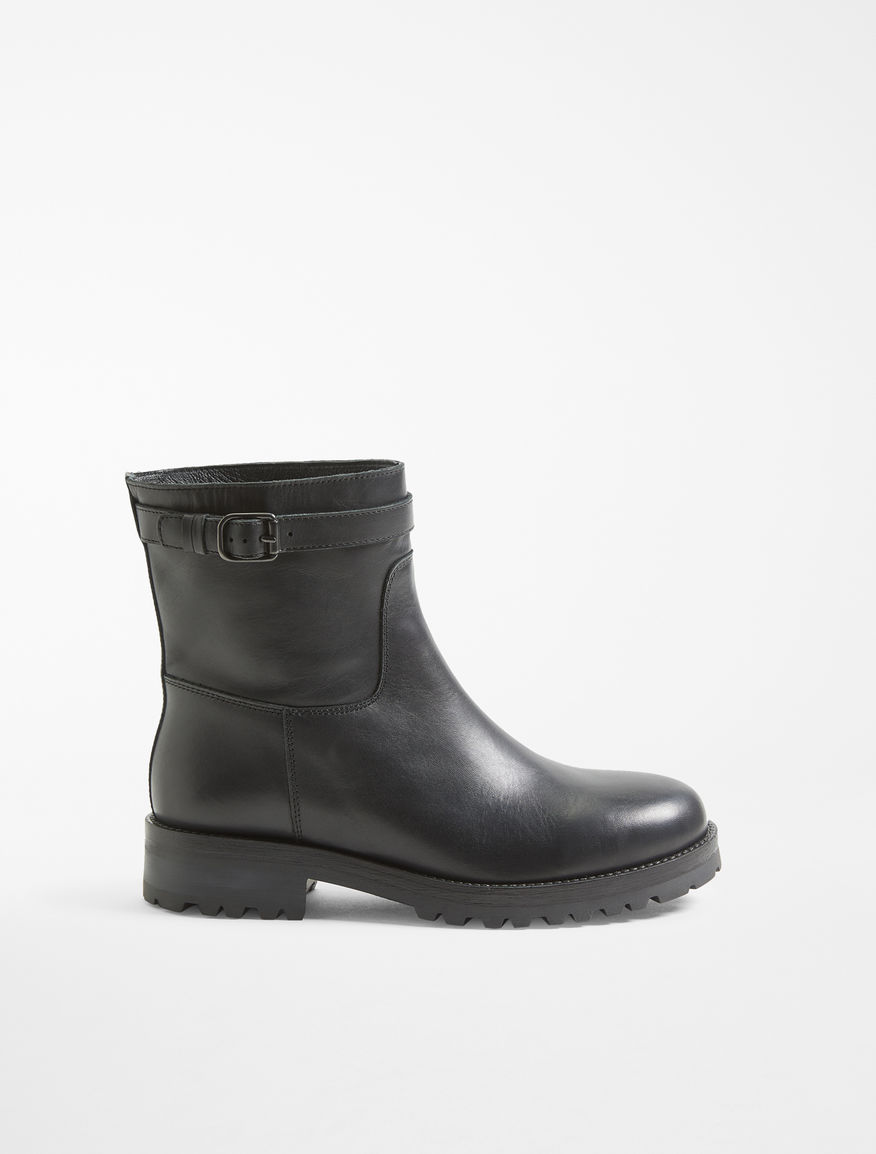 Leather biker boot Weekend Maxmara