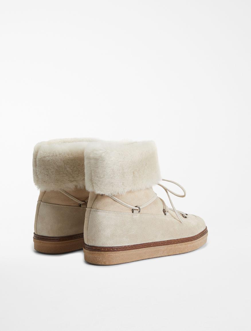 Flat boot in montone Weekend Maxmara