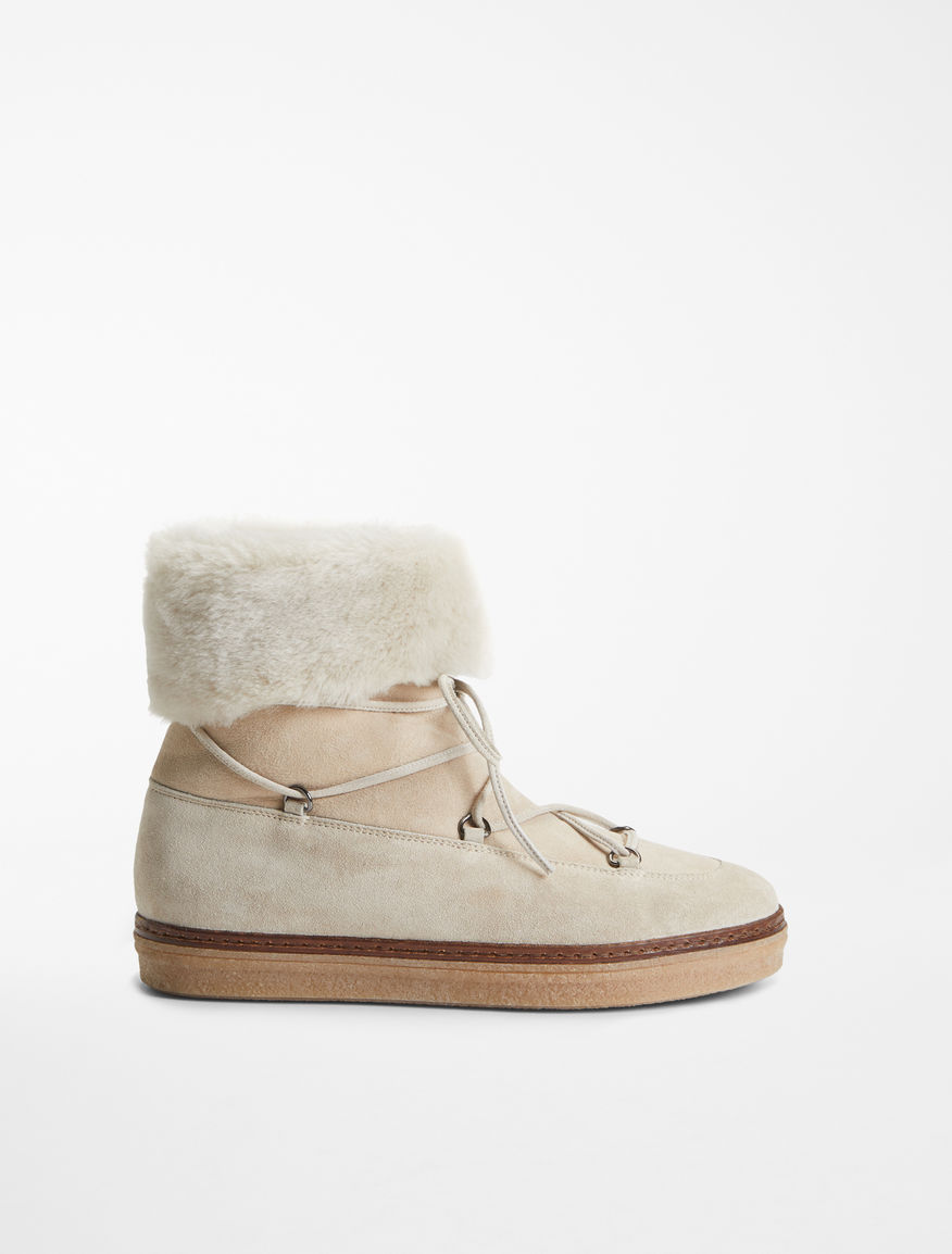 Flat sheepskin boot Weekend Maxmara