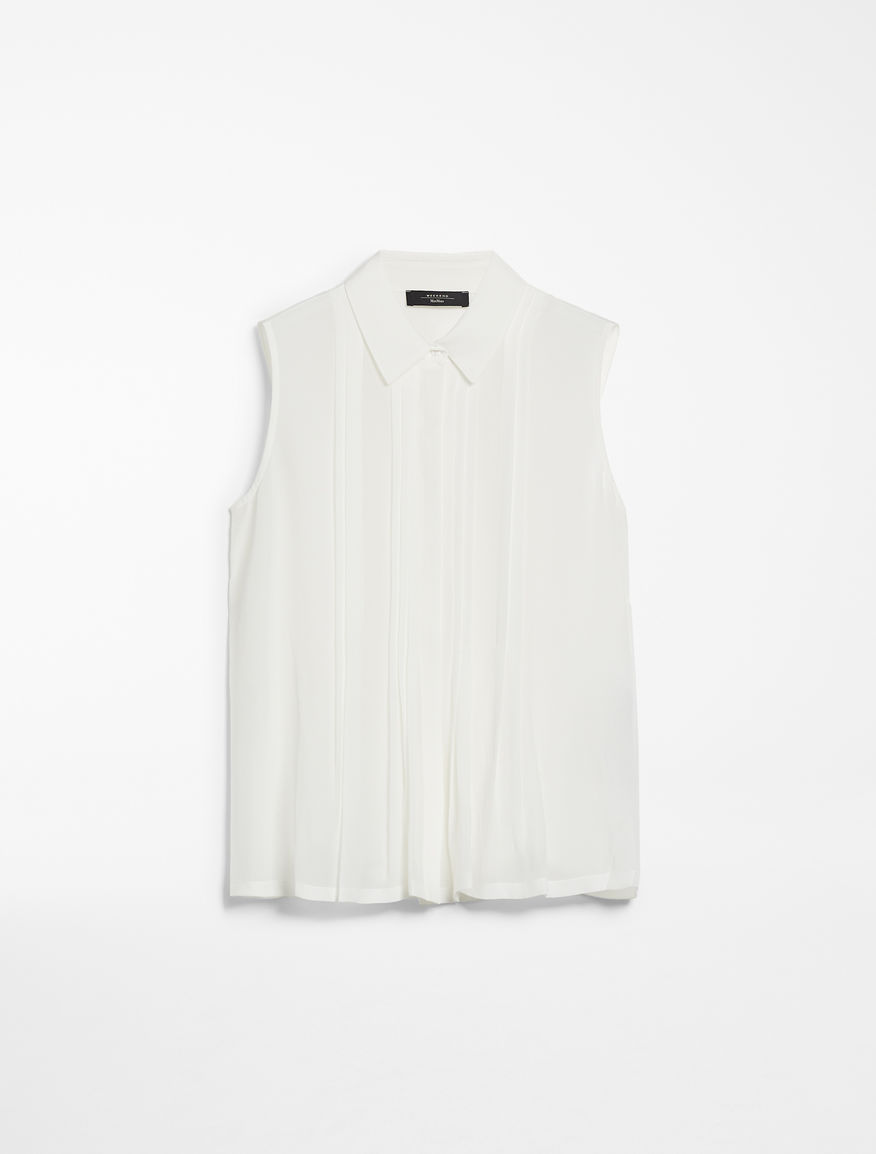 Top in silk and jersey Weekend Maxmara