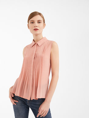 Top in seta e jersey Weekend Maxmara
