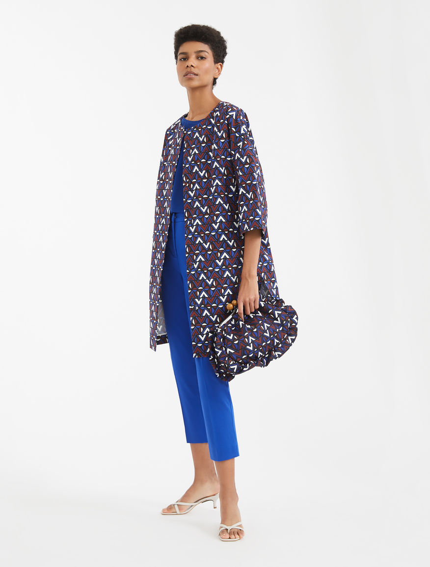 Cotton faille duster coat Weekend Maxmara
