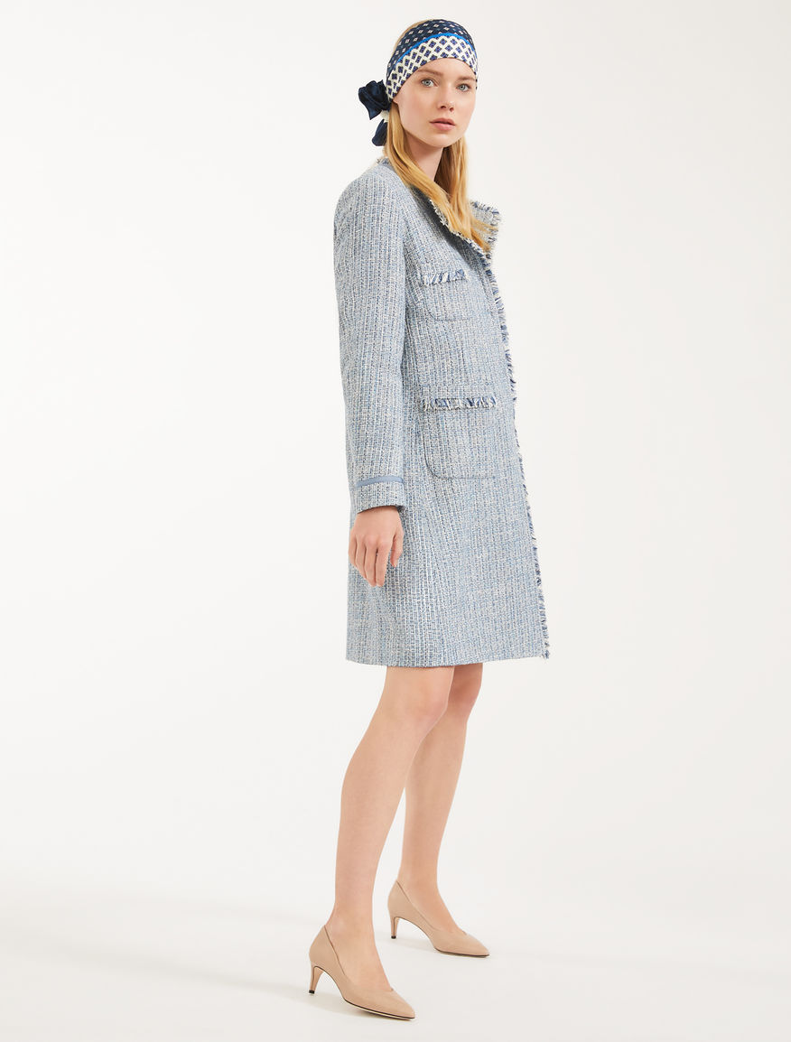 Woven cotton coat Weekend Maxmara