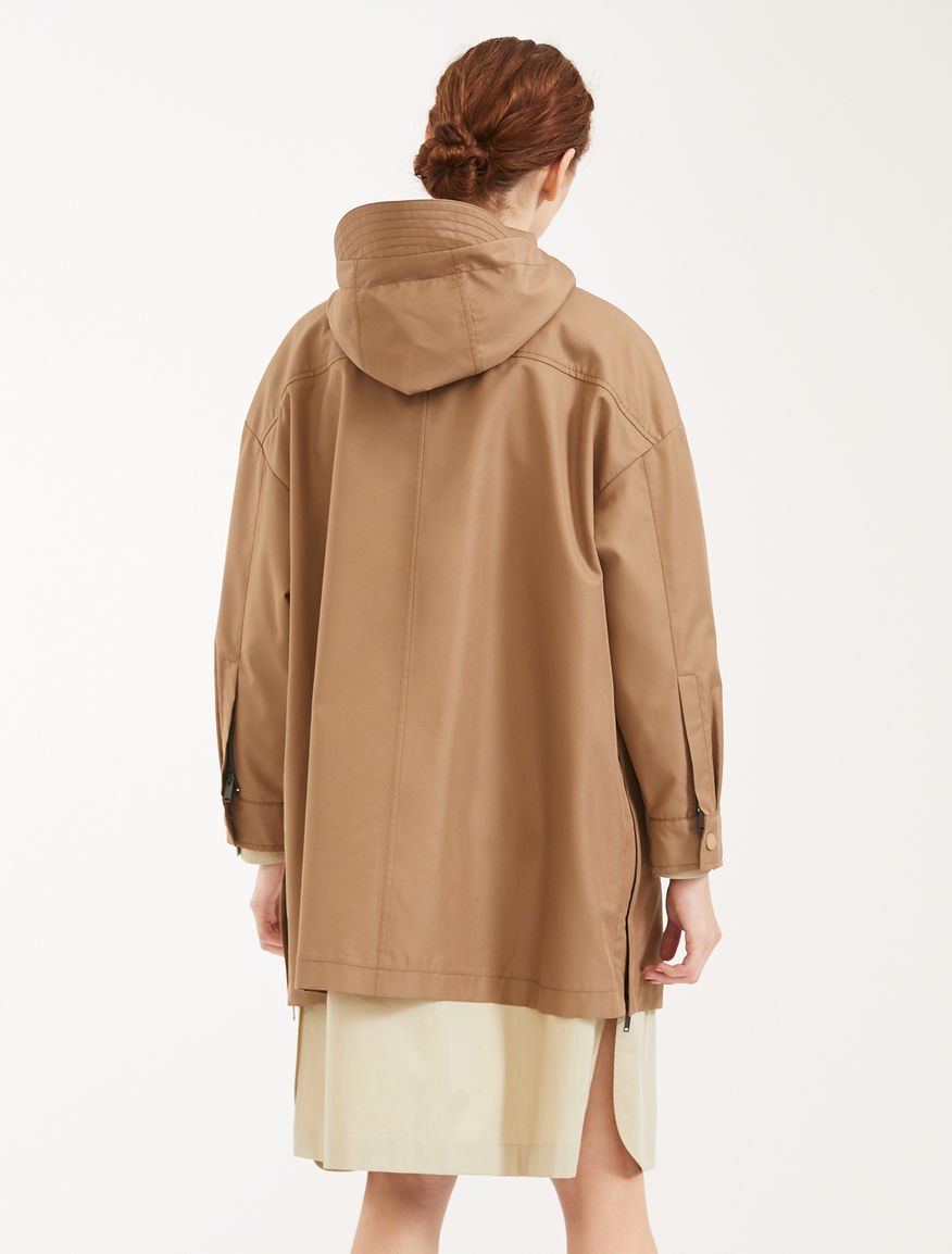 Cotton gabardine raincoat Weekend Maxmara