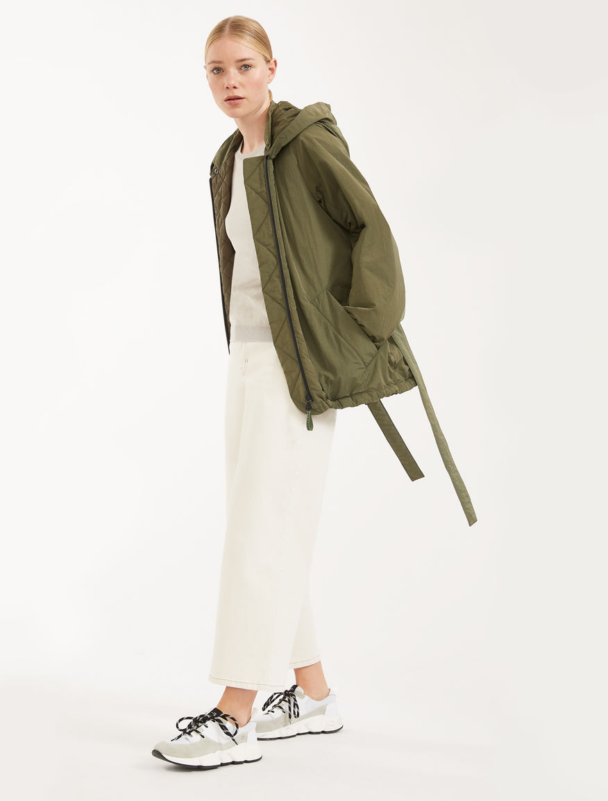 Water-repellent canvas raincoat Weekend Maxmara