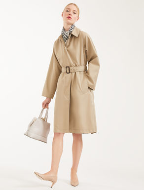 Impermeabile in gabardina di cotone Weekend Maxmara