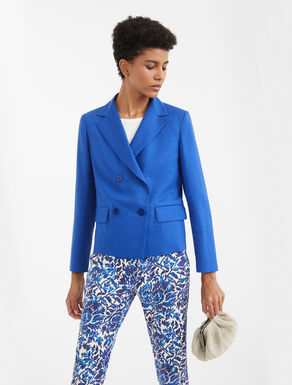Cotton and linen jacket Weekend Maxmara