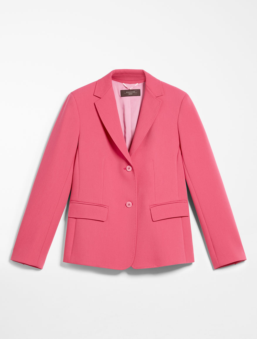 Viscose fabric blazer Weekend Maxmara