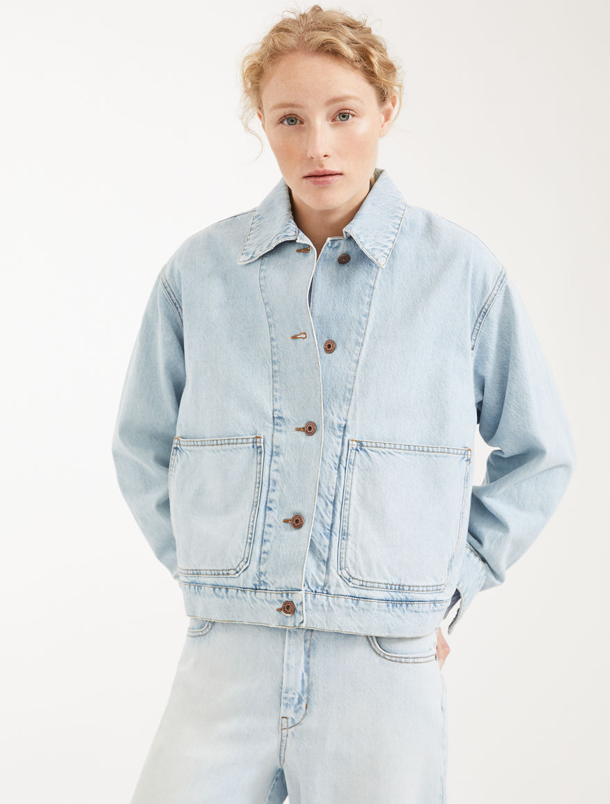 Giacca in denim di cotone Weekend Maxmara
