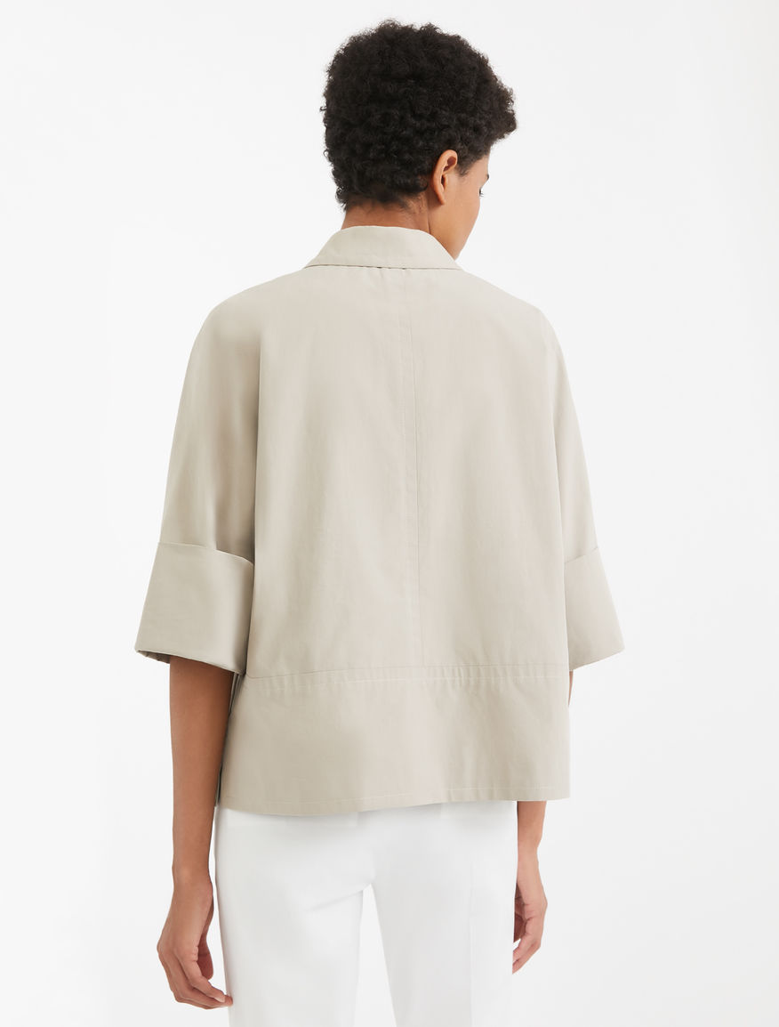 Cotton canvas jacket Weekend Maxmara
