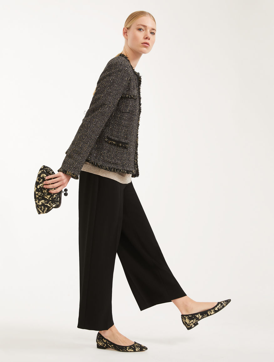 Cotton basketweave jacket Weekend Maxmara