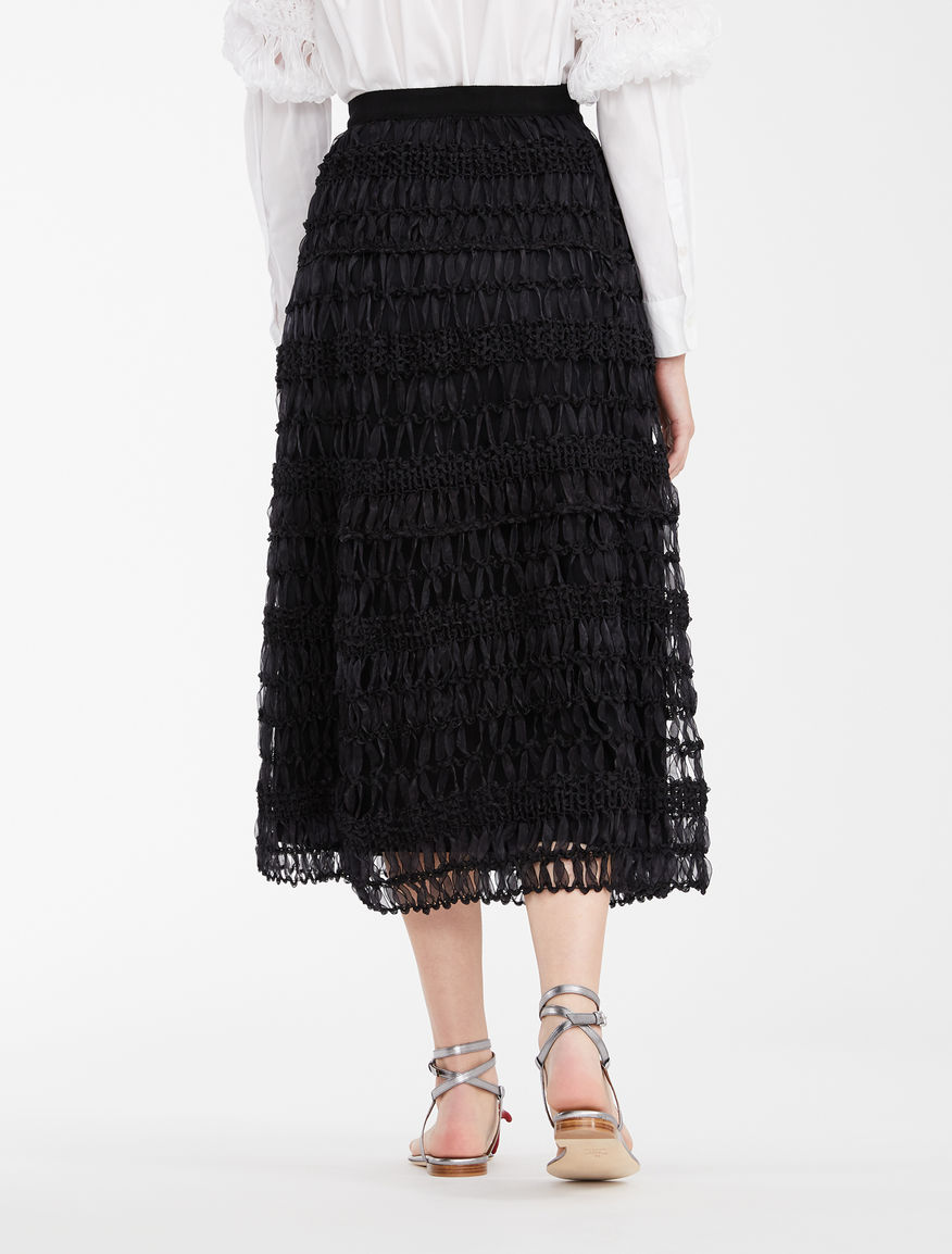 Skirt in woven organza Weekend Maxmara