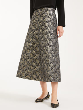 Gonna in cotone jacquard Weekend Maxmara